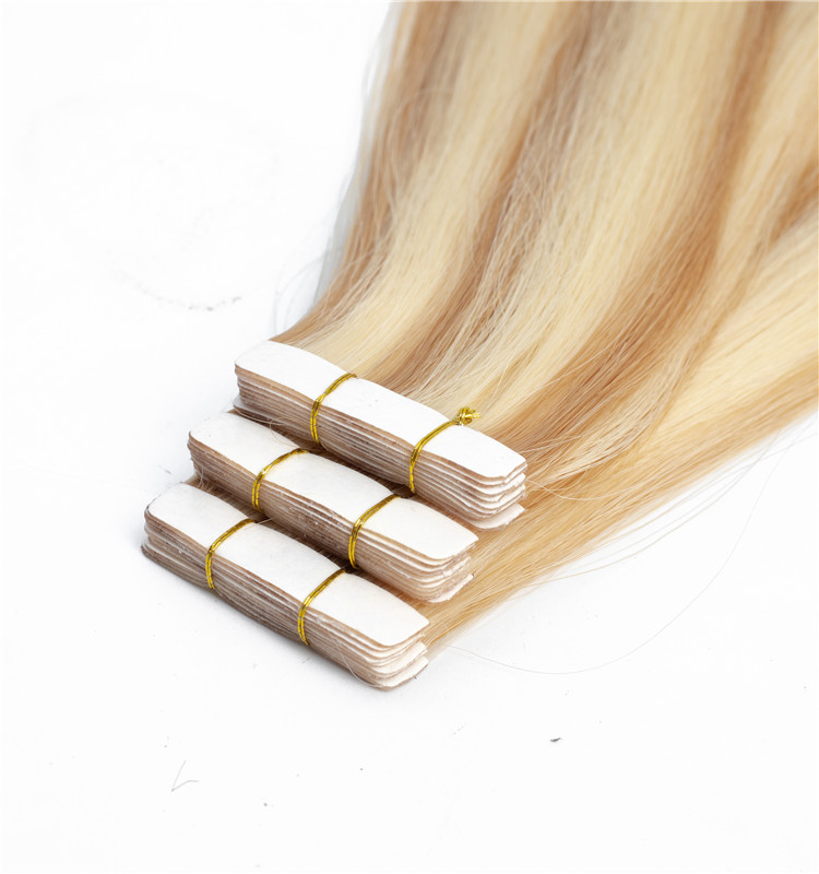 Cheap dropshipping remy 10a brazilian virgin human hair adhesive pu skin weft tape in hair