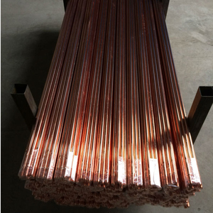Copper Bonded Steel Pointed Earthing Rod Electrode Rod For Earthing