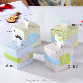 My Little Man Favor Box Baby Shower Favor Boxes For Boy
