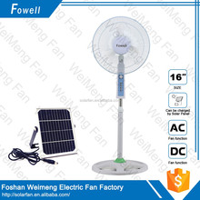 Hot Sales Home Use Long Life Time 16 inch Stand Fan With Low Price lithium battery fan