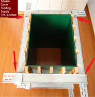 Various Size Easy Install shuttering plywood formwork with Adjustable Column Clamps