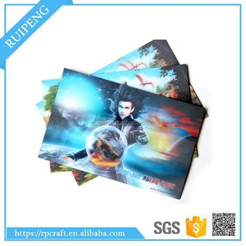 Vivid customized 3d lenticular animated business card poster card vivid customized 3d lenticular animated business card poster card manufacturer colourmoves
