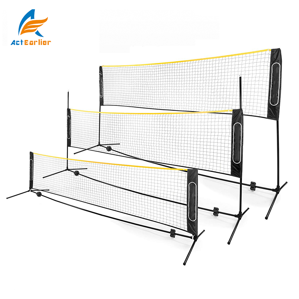 ActEarlier sports de plein air Net pour Volley-Ball Tennis Pickleball Enfants badminton