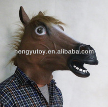 2014 Hot Selling Huizhou Realistic New Cute latex mascot horse costume