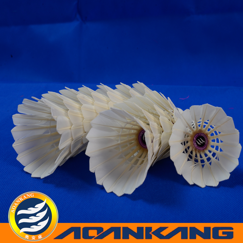 pvc badminton flooring/badminton support/badminton shuttlecock for competition