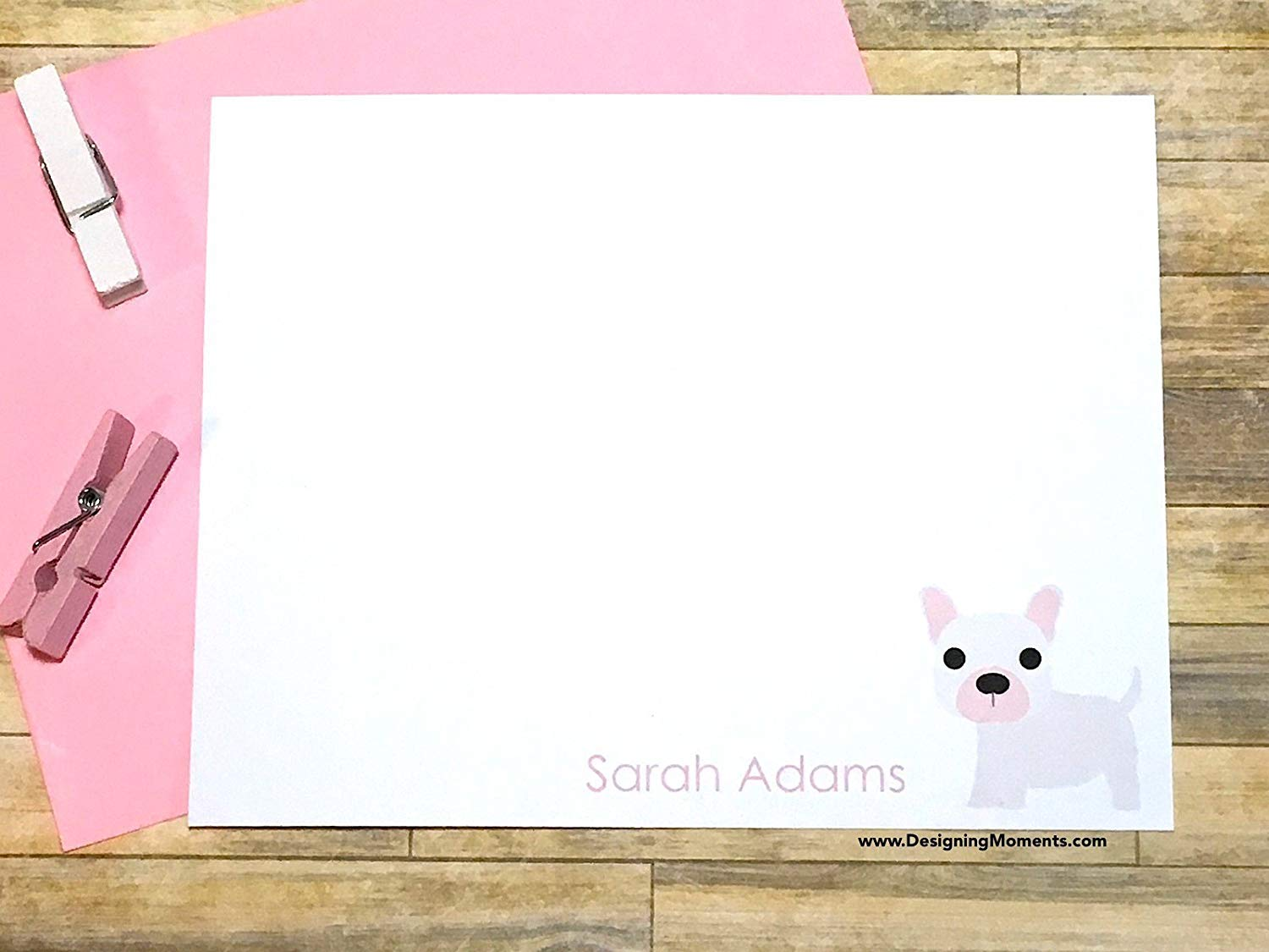 Get Quotations French Bulldog Stationery