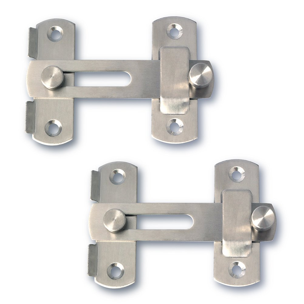 Alise MS9001 Stainless Steel Flip Latch Gate Latches Bar Latch Safety Door Lock,