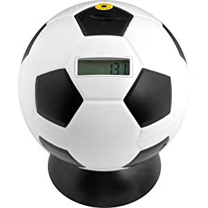 Trademark Games Soccer Ball Digital Coin Counting Bank by Trademark Games