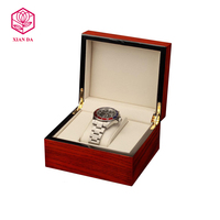 custom size new arrival wooden single watch storage box