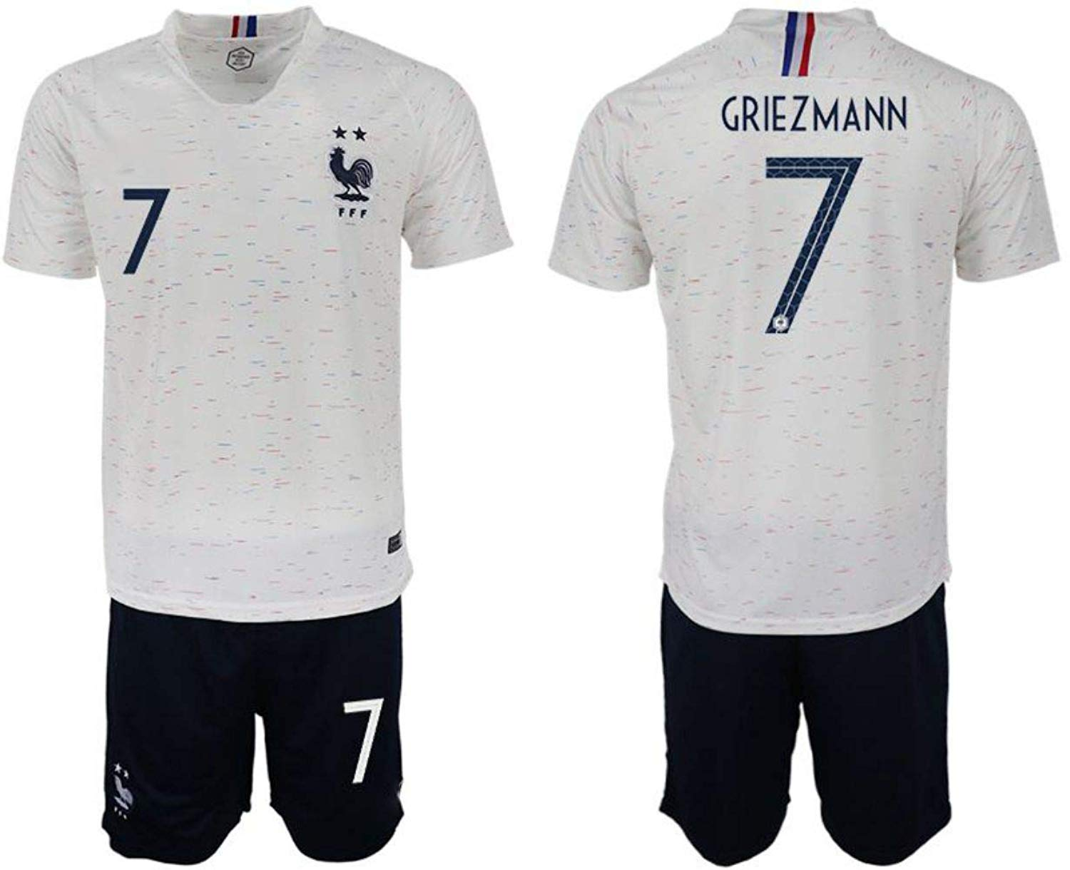 Get Quotations · 2018 Russia World Cup France Away Mens Soccer Jersey  Griezmann  7 0c867b1a6