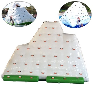 Custom Water Toy Inflatable Iceberg Pool Float Island with Factory Price