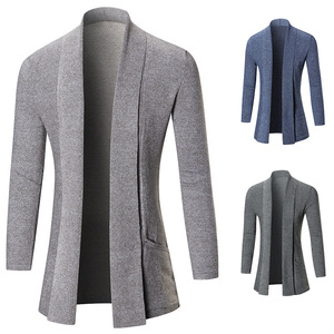 European fashion men knitted sweater cardigan