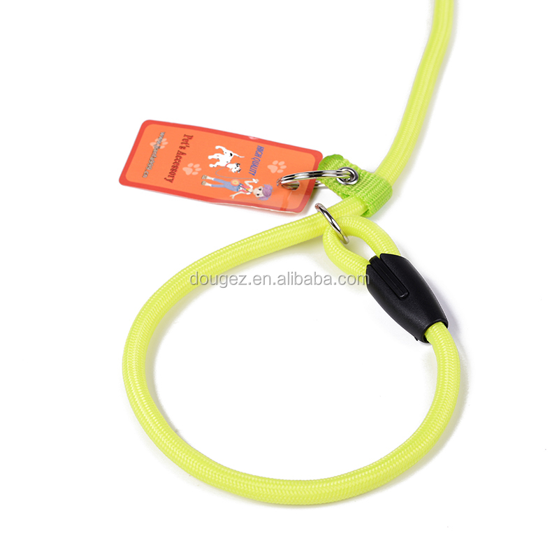 2020 Made in China High-quality 120m nylon dog leash with reflection