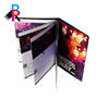 Custom colorful printing sofecover product sample brochure
