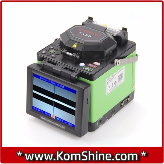 Optical Fiber Fusion Splicer & Otdr Combo/fiber Splicing Machine ...