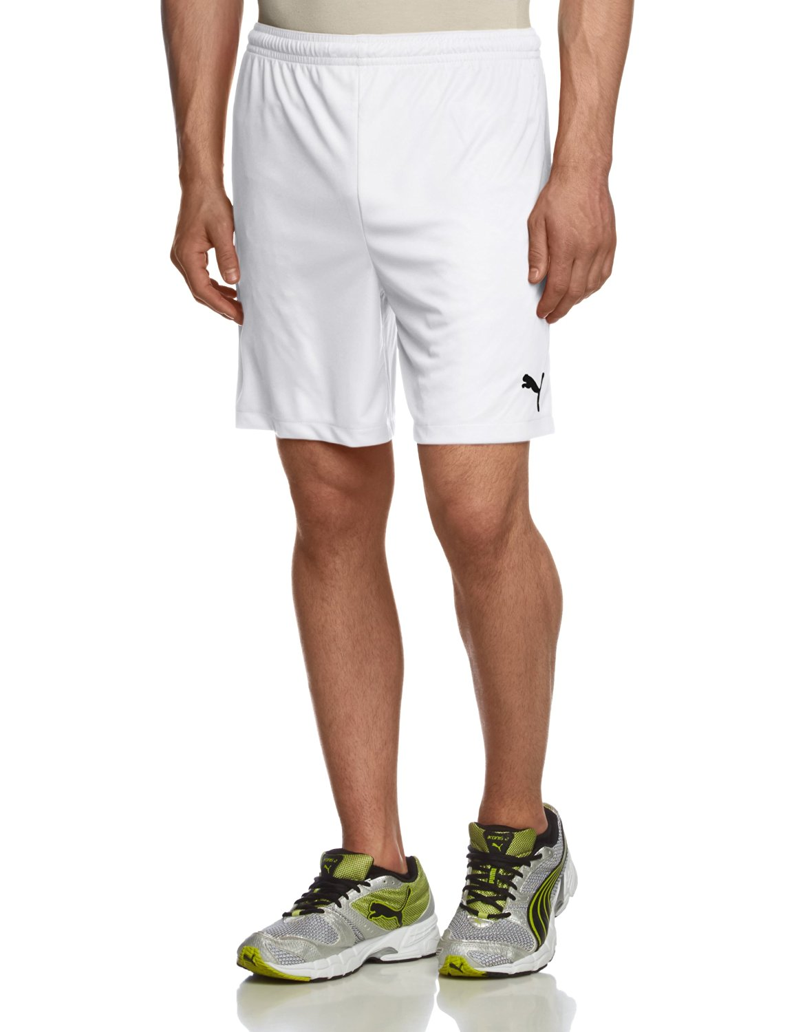 Get Quotations · PUMA Velize Shorts w o innerslip white Football f109c28fe7c0d