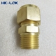 "15mm Compression x 1/2"" Male Pipe Brass Male Connector Compression Fitting"