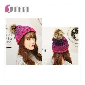 Knitting Wool Beard Octopus Hats Handmade Novelty Winter Funny Squid Hat  Crocheted Beanies Caps Unisex Ski 89cc3b53bb9