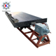 High efficient 2tph capacity shaking table for gravity separation