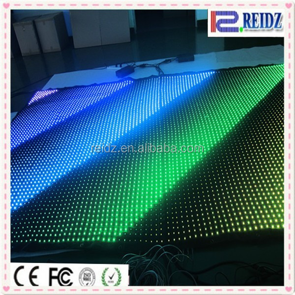 New WS2821 IC DJ club flexible stage video led curtain display background