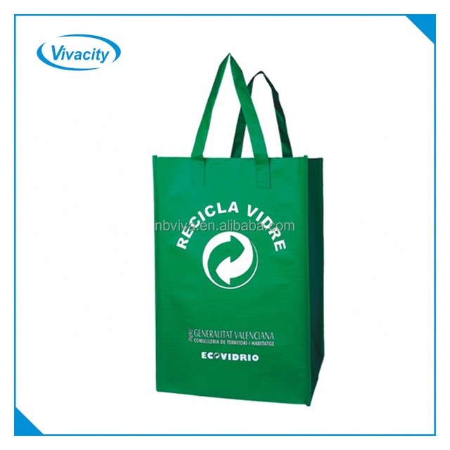 Eco Friendly Customized Logo Promotional Pp Woven Plastic Garbage Bag