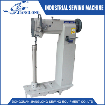 40 Super High Post Bed Hand Operated Industrial Sewing Machine Simple Post Bed Industrial Sewing Machine