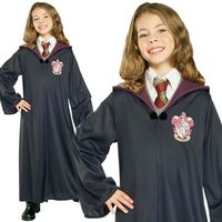 Kids Boys Girls Official Robe Cloak Harry Potter Fancy Dress Costume AD1217