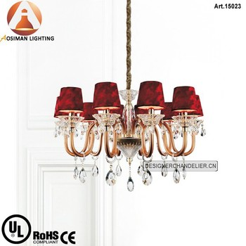 10 Light Elegant Crystal Chandelier with Clear Crystal