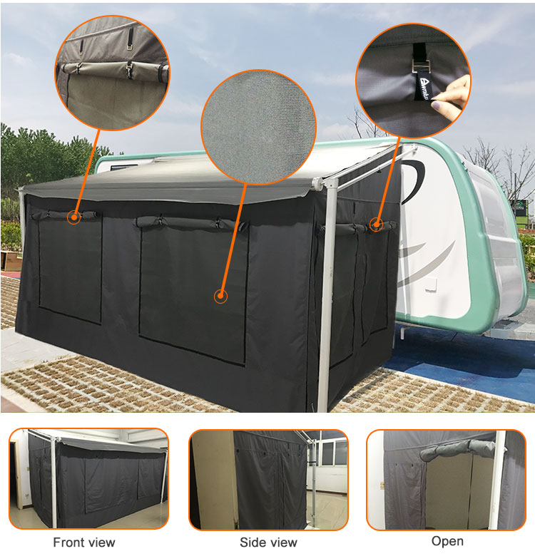 Custom Campervan Awning Tent Travel Trailer Awning Add A ...
