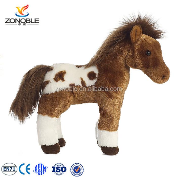 Custom Horse Type Stuffed Animal Plush Toys For Kids Gift Soft
