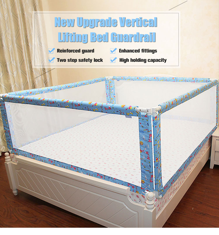 New Upgrade Vertical Lifting Little Tikes Toddler Bed Guard Rail
