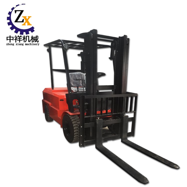 3-way narrow aisle standing mini battery operated electric forklift