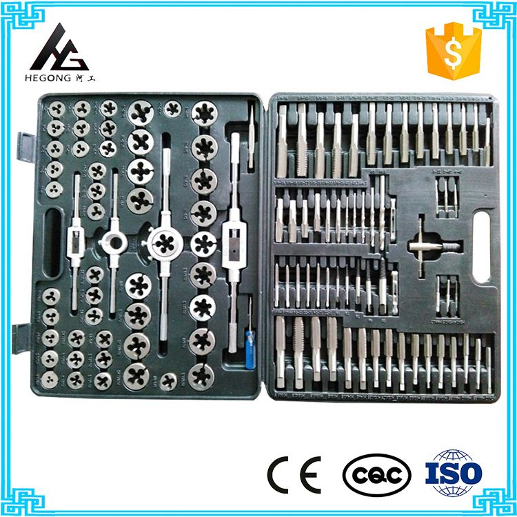 Hot Alloy steel tap and die tool set Foreign trade goods