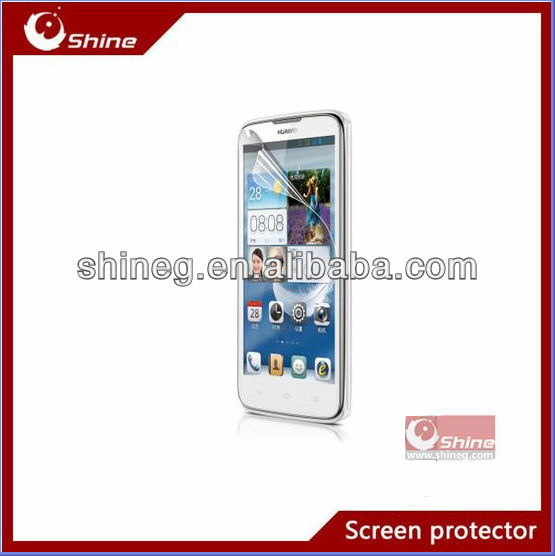 Japanese material high quality clear screen protective film for Huawi G710/A199 oem/odm
