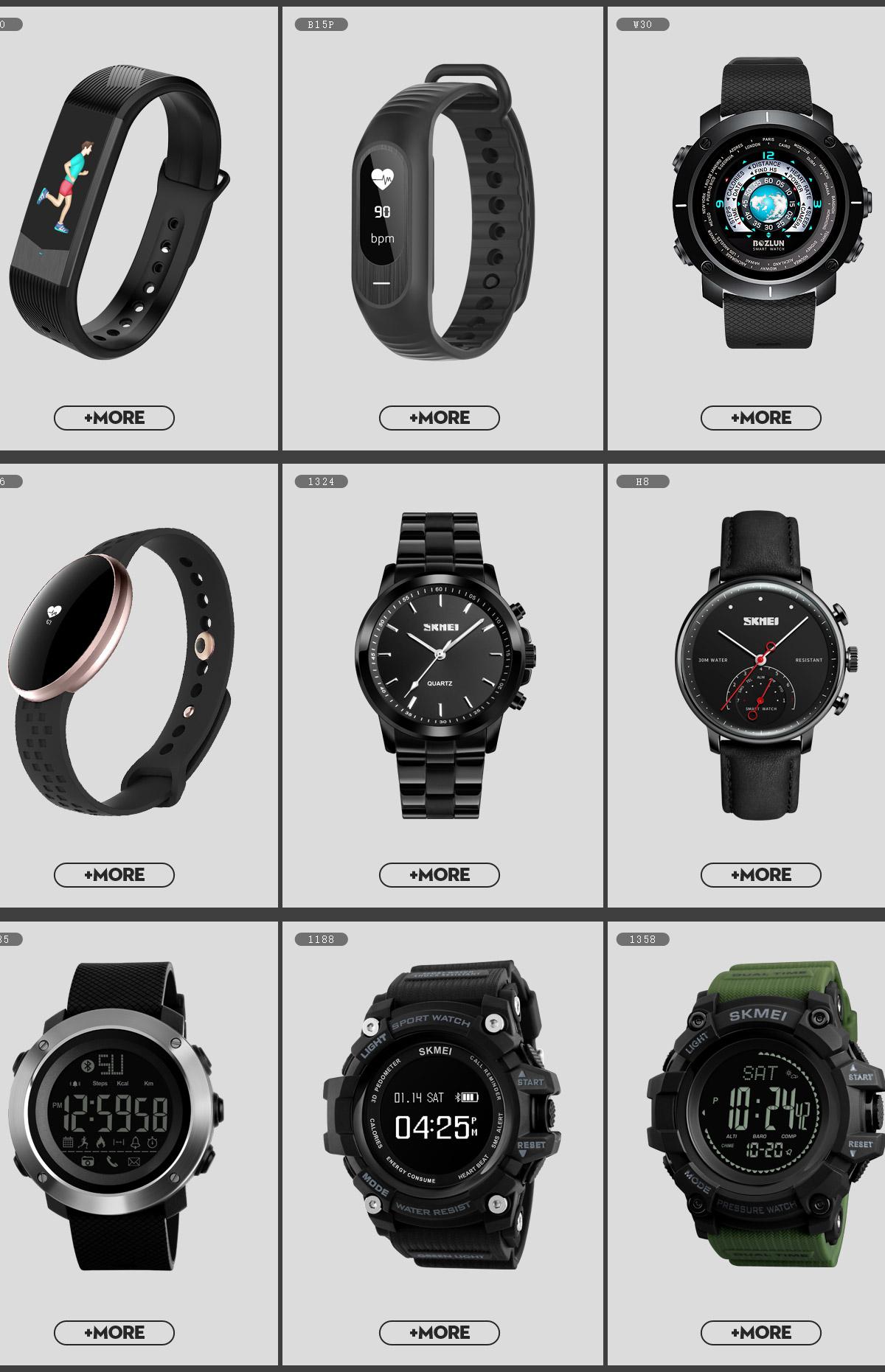 Guangzhou Skmei Watch Co Ltd Wristwatches Digital Jam Tangan Wanita 1108 Black Water Resistant 50m Multi Language Sites