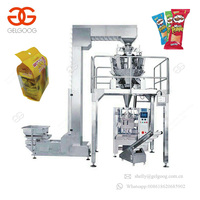 Multihead Weigher Snack Food Big Bag Filling System Vertical Form Fill Seal Packing Machine