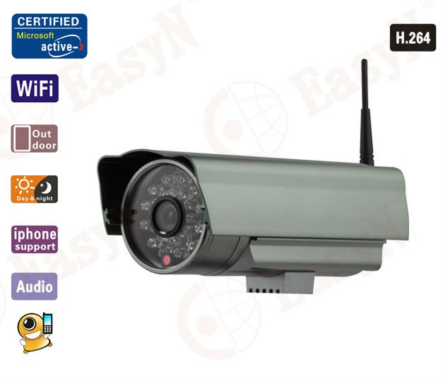 New Outdoor IR ip camera wireless Wifi waterproof alarm night vision monitoring Webcam