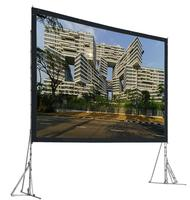 Good quality 150inch fast fold projection screen/ portable foldable projection screen