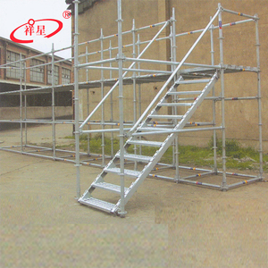 Top quality hot dip galvanized ringlock scaffolding system