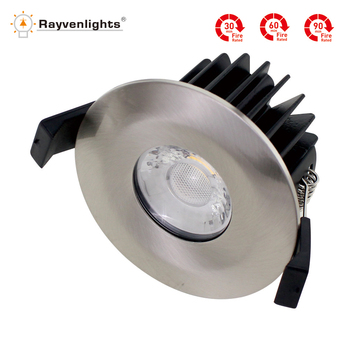 Homebase Cob Led Fire Rated Downlight Chrome Ip65 Trodionic Driver Product On Alibaba