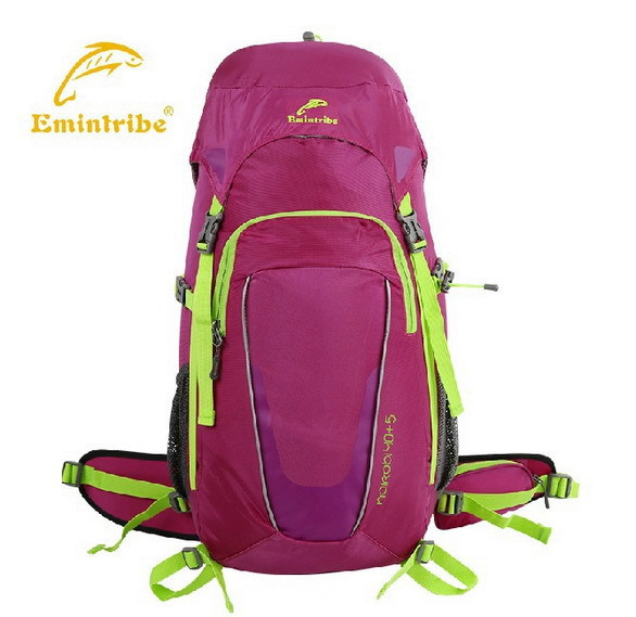 40L Outdoor Climbing Package Nylon Waterproof And Tear Shoulders Outdoor Backpack  Riding On Foot Leisure Travel Backpack