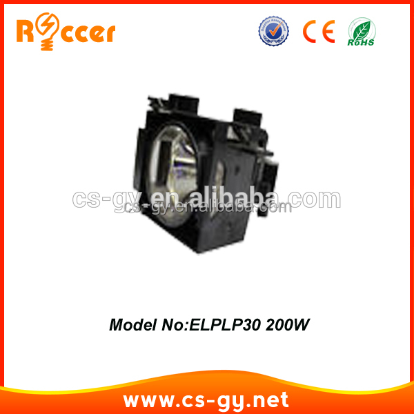 China supplier cheap wholesale elplp30/V13H010L30 projector lamp with housing for cars