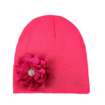 Newest designs and hot sale cute baby hats, pretty kids hats