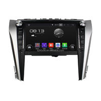 9 inch android car stereo dvd player with gps navigation dashboard camera mirror link review camera for Camry 2015