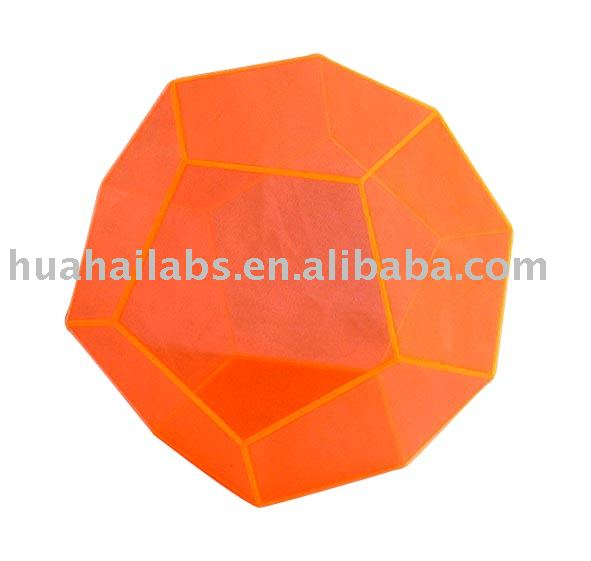 lab supply, mathematic, physic, biology, acrylic cube, regular dodecahedron