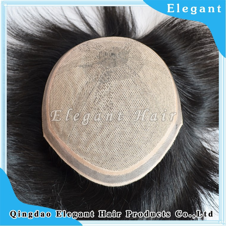 2015 Qingdao elegant hair wholesale men s hairpieces toupees hair systems for men