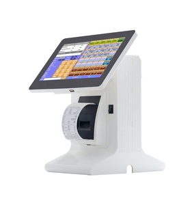 "Factory pos 10"" touch screen pos system price with barcode scanner"