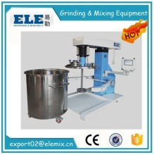 Intermittent Dispersing High Shear Emulsifier Mixer Agitator For Dissolvable Solid / Liquid / Gas Material