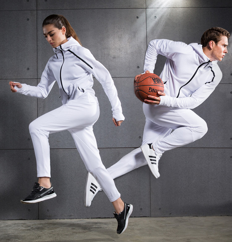 mens sweatpants and running jacket jogging suits wholesale women gym  tracksuit 658dbbc3eec