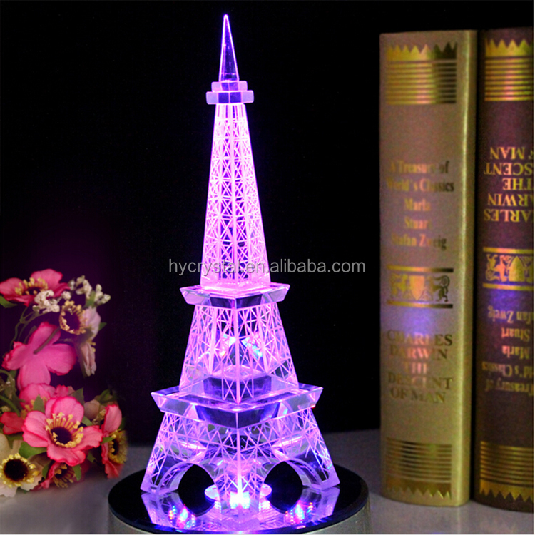 Top seller mini crystal torre eiffel centros buy product - Mesa tower crystal ...